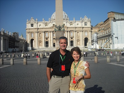 pic in front of st peter's basilica  DSCF0007 2