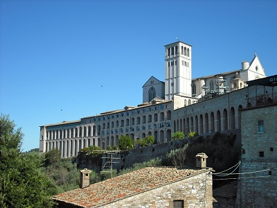 pic of Papal Basilica of St. Francis of Assisi and conventCF0046 3