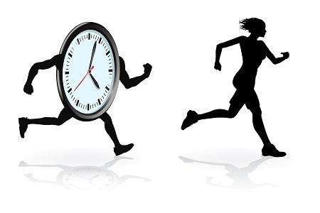 Beat the clock runner