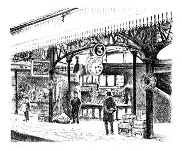 Stirling Railway Station 1894 for EH
