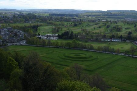 Stirling Scotland King's Knot and Victorian Neighborhood for EH