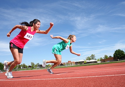 bigstock-Women-running-on-track-14086151