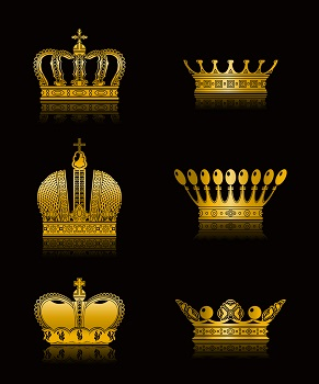 bigstock-Set-of-Crowns-vector-13933577
