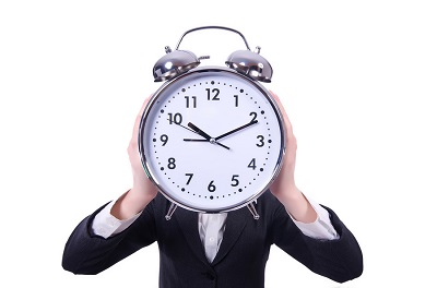 bigstock-Funny-woman-with-clock-on-whit-44759842