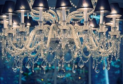 bigstock-Vintage-crystal-chandelier--33249605
