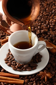 bigstock-Cup-and-pot-of-coffee-on-coffe-45183556