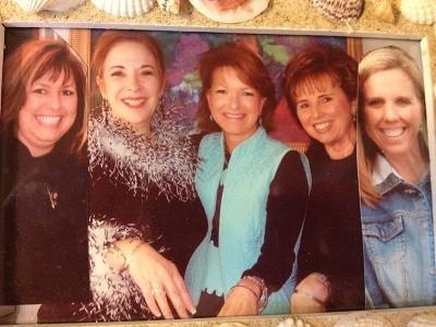 Gwen Paten, Jane Chilton, Elizabeth Hoagland, Naomi Rhode and her daughter Katherine Magnuson
