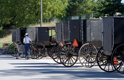 bigstock-Amish-Market-Day-336264