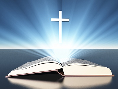 bigstock-Light-radiates-from-bible-unde-45663466