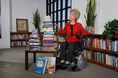You can find out about Joni's ministry by visiting her website:  www.joniandfriends.org