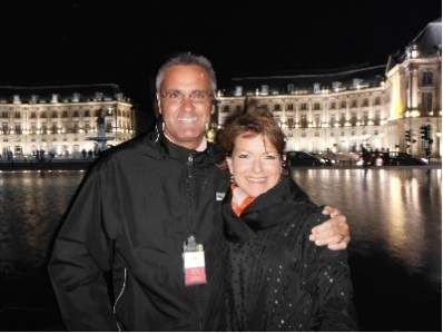 john and eliz in Bordeaux