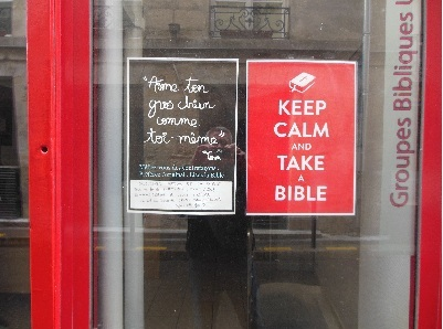 keep calm take a bible