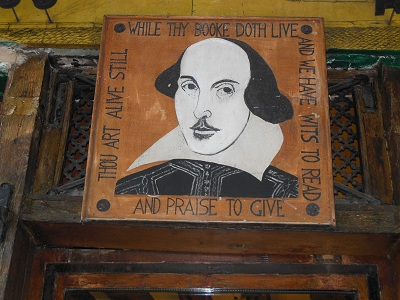 Quote and pic of Shakespear