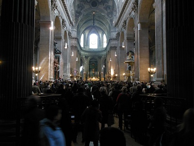 Saint Sulpice Church Service