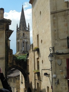Tower in St Emilion