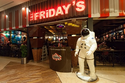 T.G.I Friday's Restaurant in Kuwait