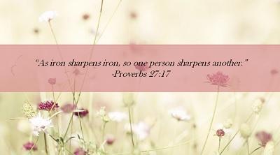 Proverbs 27-17