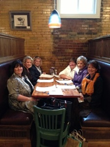 Fay Bloyd, Angela Correll, Bonnie Johnson, Nancy Aguiar, Judy Russell and Yours Truly