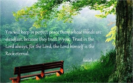 Isaiah 26 3-6