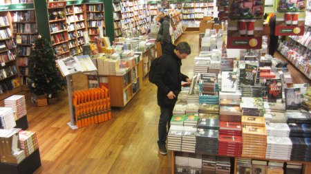 "Literary Iceland Revels In Its Annual 'Christmas Book Flood"". Photo courtesy of npr.org. Click image to view article."