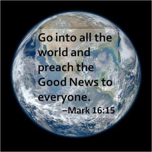 Mark 16-15a