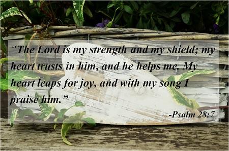 Psalm 28-7a