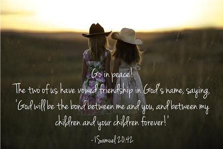 1 Samuel 20 42a