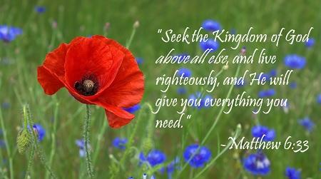 Matthew 6 33z