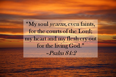 Psalm 84 2