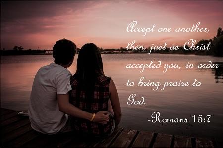 Romans 15 7