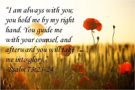 Psalm 73 23 24